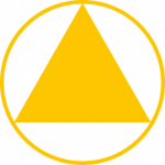 K-Reamer cutting profile symbol yellow
