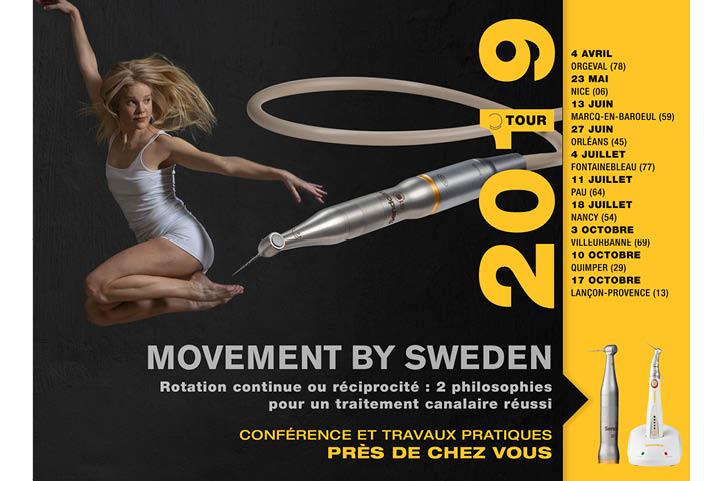 Movement by Sweden – Conférence et travaux pratiques près de chez vous (FR)
