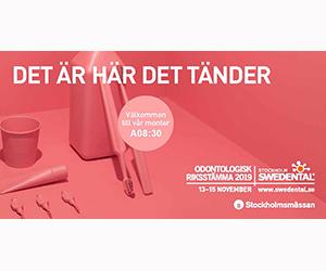 Swedental Stockholm 13-15 November 2019